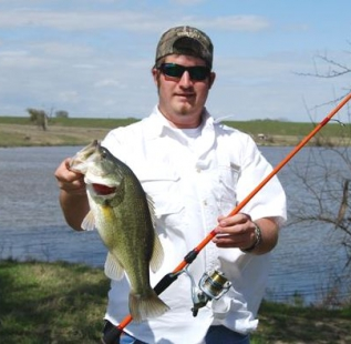 Franks Smith's son, Tanner, landed this nice bass in May 2010 at Decatur Beaver Lake