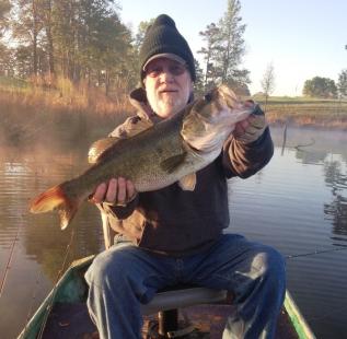 Joe Clayton at Gilmer Hat and Star Ranch